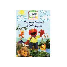 Proper Arabic (Fusha) DVD Sesame Street The Great Outdoors الحيوانات البريه Eid