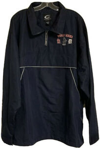World Series 2006 Saint Louis G-3 Sports Pullover Jacket Mens Size XXL Blue RARE