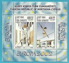 Türkisch-Zypern aus 2002 ** postfrisch Block 20 MiNr.560-561 - Europa: Zirkus!