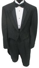 Boys Size 10 Black Tuxedo Tailcoat Mardi Gras Long Tails Wedding Ringbearer