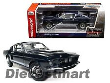 1967 Ford Shelby Gt 500 50th Aniversario Hemmings 1:18 Autoworld AMM1111 Azul