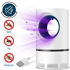 More details for usb electric mosquito insect killer zapper uv light fly bug trap pest control uk