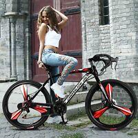 "Trekking Mountain Bike 26"" Shimano Shifter 21Speed Aluminum Full Suspension 700c"