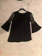 Dorothy Perkins Black Maternity Top Size UK12