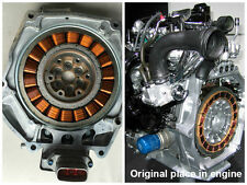 2011 Honda Insight 1.3 IMA Hybrid IMA Motor Housing Assy Assembly 1A200RBJ000