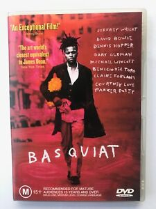 Basquiat (1996, Regio 4 DVD, David Bowie, Dennis Hopper, Gary Oldman)