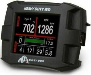 BULLY DOG HEAVY DUTY WATCHDOG MULTI-GAUGE MONITOR FOR CUMMINS/CATEPILLAR 46501