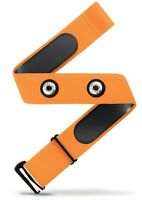 Heart Rate Monitor Soft Strap Replacement | Universal Replacement (Ornge, M-XXL)
