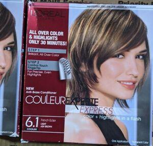L'oreal Paris Couleur Experte Express Color & Highlights 6.1 Light Ash Brown