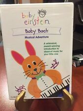 Baby Einstein: Baby Bach  Musical Adventure (DVD, 2002) Mfg. Sealed