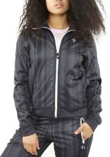 LRG Lifted Research Group Size Large Women's Zip Up Track Jacket Black