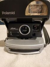 Polaroid One Step Silver Express Portable Instant Camera Not Tested!