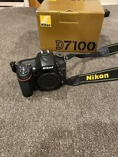 Nikon D7100 24.1 MP Digital SLR Camera - Black (Body Only)