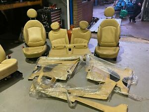 MINI COOPER S R56 CREAM FULL LEATHER SEATS  INTERIOR