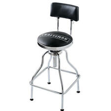 Craftsman Adjustable Tall Hydraulic Seat Stool Chair Garage Shop Bar Stool