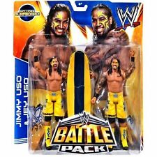 WWE JIMMY & JAY USO BATTLE PACK 28 THE USOs TAG TEAM CHAMPIONS w/ surf board