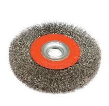 1x 150mm crimped wire circular wheel 25mm multi bore 0.35 wire 6000rpm