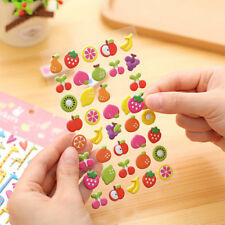 1 Pc New Fruit Diary Stickers Decor Scrapbooking Stationery Planner Sticker Toys