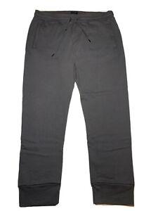 True Religion mens joggers sweat pants black sz xxl