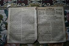 1809 Zeitung 61 / Augsburg / Krieg Österreich Napoleon / Vertrag Türkei England
