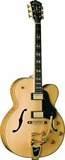 Washburn 6 String Hollow-Body Electric Guitar, Natural (J7VNK-O)