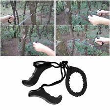 Outdoor Emergency Survival chain Saw Sawing Pocket Plastic handle Tools FE