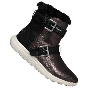 Pepe Jeans Hyke Damen Winter Mode Boots Stiefel PLS30762-952 braun Gr. 42 neu