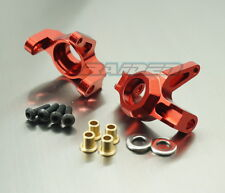 Alloy Aluminum Front Knuckles Steering Block Axial Wraith 90018 90020 90045 RED