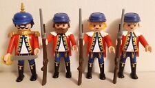 Playmobil 4 Soldats Francais
