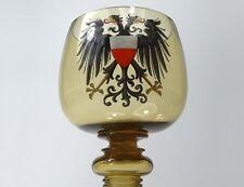Römer/ Fußbecher, Emaillemalerei, Fritz Heckert, Österreichische Fahne, um 1910