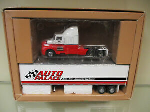 Auto Palace Kenworth Semi w/ Van Trailer By PEM 1/64th Scale  !