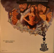 """EAST - COLONNA SONORA - GRANDE TRENO RAPINA - JERRY GOLDSMITH 12"""" LP (L992)"""