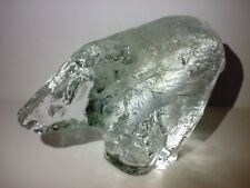 PUKEBERG Glass Glas Figur Eisbär Polar Bear Paperweight Briefbeschwerer 70s/80s