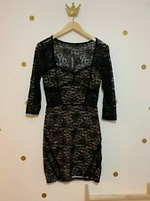 River Island Lace Bodycon Dress Size 10 New With Tags