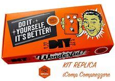 KIT PER COSTRUZIONE FAI DA TE DEL PEDALE iComp Compressore