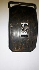 """Vintage 20's HIGKOK """"H"""" Snake Skin Design Belt Buckle"""