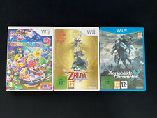Lot Boîtier Wii / Wii U PAL EUR sans jeux ni notices