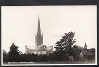Norfolk Postcard - View of Norwich Cathedral  RS3817