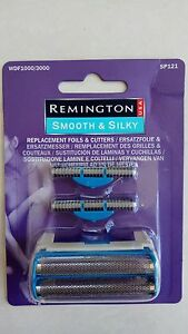 REMINGTON SP121 Smooth and Silky series REPLACEMENT FOIL &  CUTTER Fits WDF3000