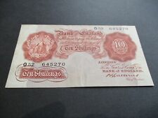 More details for b223 -  bank of england 10/- shilling note - b.g.catterns - o52 645270