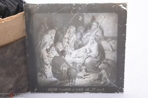 ✅ MAGIC LANTERN PROJECTION SLIDE GUSTAVE DORE BIBLE PICTURE GLASS  21