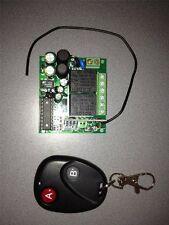 Funkschalter mit 230 V Relais für 2 Geräte, Garagenöffner Licht, Schaltfunktion