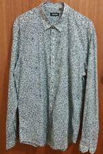 ANTONY MORATO mens long sleeve shirt size XL, cotton, floral