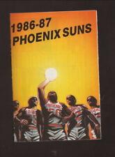Phoenix Suns--1986-87 Pocket Schedule--Circle K