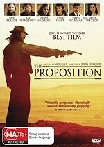 The Proposition * NEW DVD * David Wenham Guy Pearce Ray Winstone Emily Watson