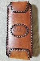 Vintage Genuine Leather Key Holder Pouch Case