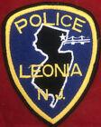 Leonia Poluce Department Patch NJ