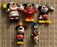 Disney Figurines Mickey And Minnie Mouse Possibly Vintage -'90's