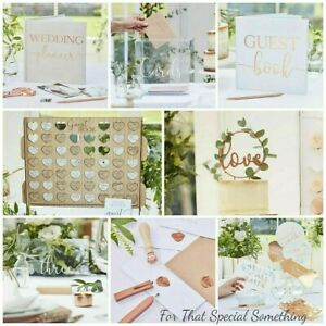 Wedding Decorations Guest Book Bunting Cake Topper Photo Props by GINGER RAY -BR