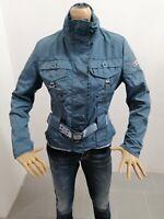 Giubbino PEUTEREY Donna Taglia Size 44 Jacket Woman Poliestere Blu Cadetto 7677